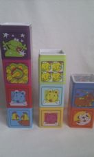 Adorable Early Learning Centre 'Set of Baby Wonder Stacking Blocks' 6 months+